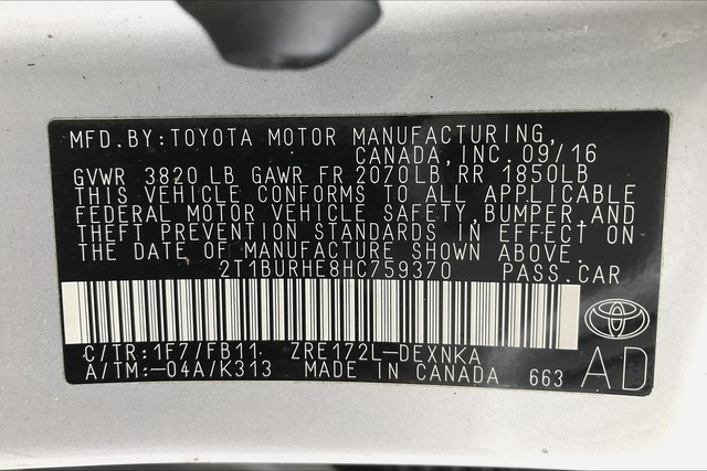Certified Pre-Owned 2017 Toyota Corolla LE**TOYOTA CERTIFIED!!**PREMIUM PACKAGE!