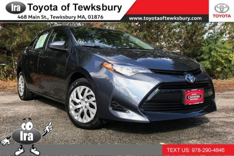 Certified Pre-Owned 2017 Toyota Corolla LE**TOYOTA CERTIFIED!!** Front Wheel Drive Sedan - In-Stock