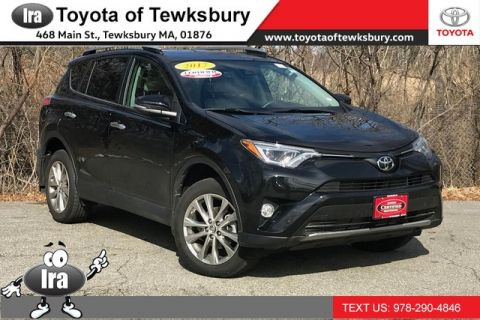 Certified Pre-Owned 2017 Toyota RAV4 Limited**TOYOTA CERTIFIED!!**