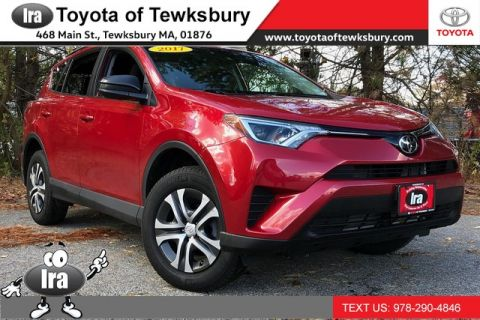 Certified Pre-Owned 2017 Toyota RAV4 LE FWD **TOYOTA CERTIFIED!!** Front Wheel Drive SUV - In-Stock