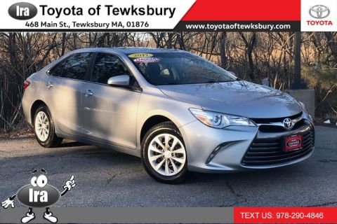 Certified Pre-Owned 2017 Toyota Camry LE**TOYOTA CERTIFIED!!** Front Wheel Drive Sedan - In-Stock