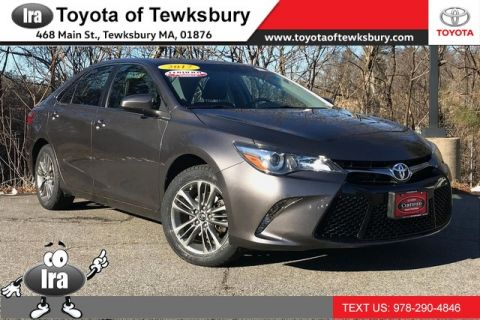 Certified Pre-Owned 2017 Toyota Camry SE**TOYOTA CERTIFIED!!** Front Wheel Drive Sedan - In-Stock