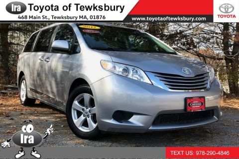 Certified Pre-Owned 2017 Toyota Sienna LE**TOYOTA CERTIFIED!!** Front Wheel Drive Minivan/Van - In-Stock